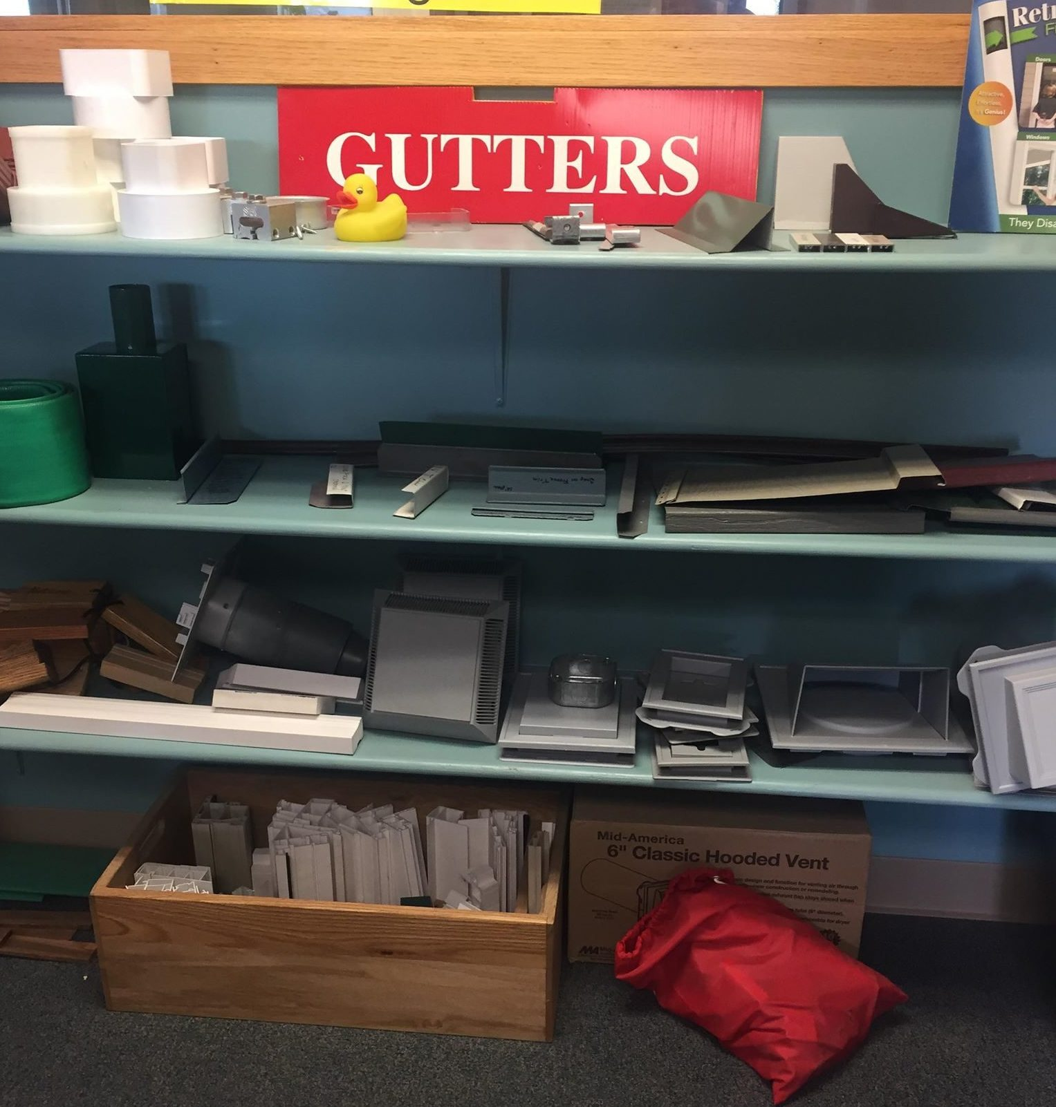 gutter materials